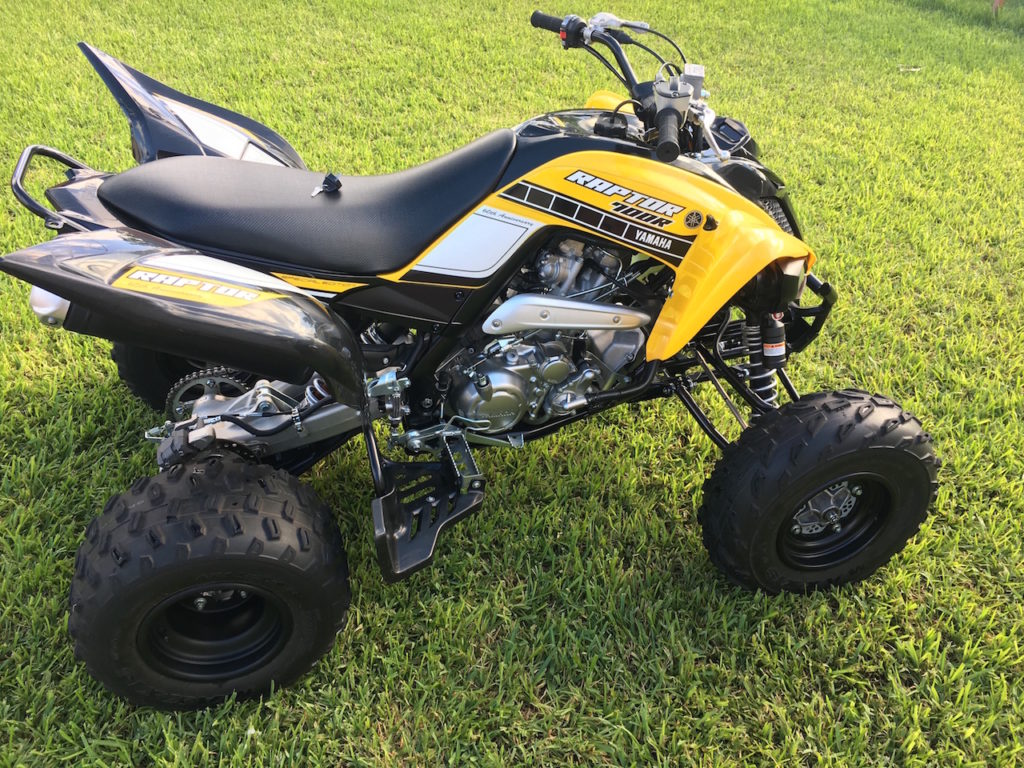 2016 yamaha raptor 700 for sale in south florida used four wheelers. Black Bedroom Furniture Sets. Home Design Ideas