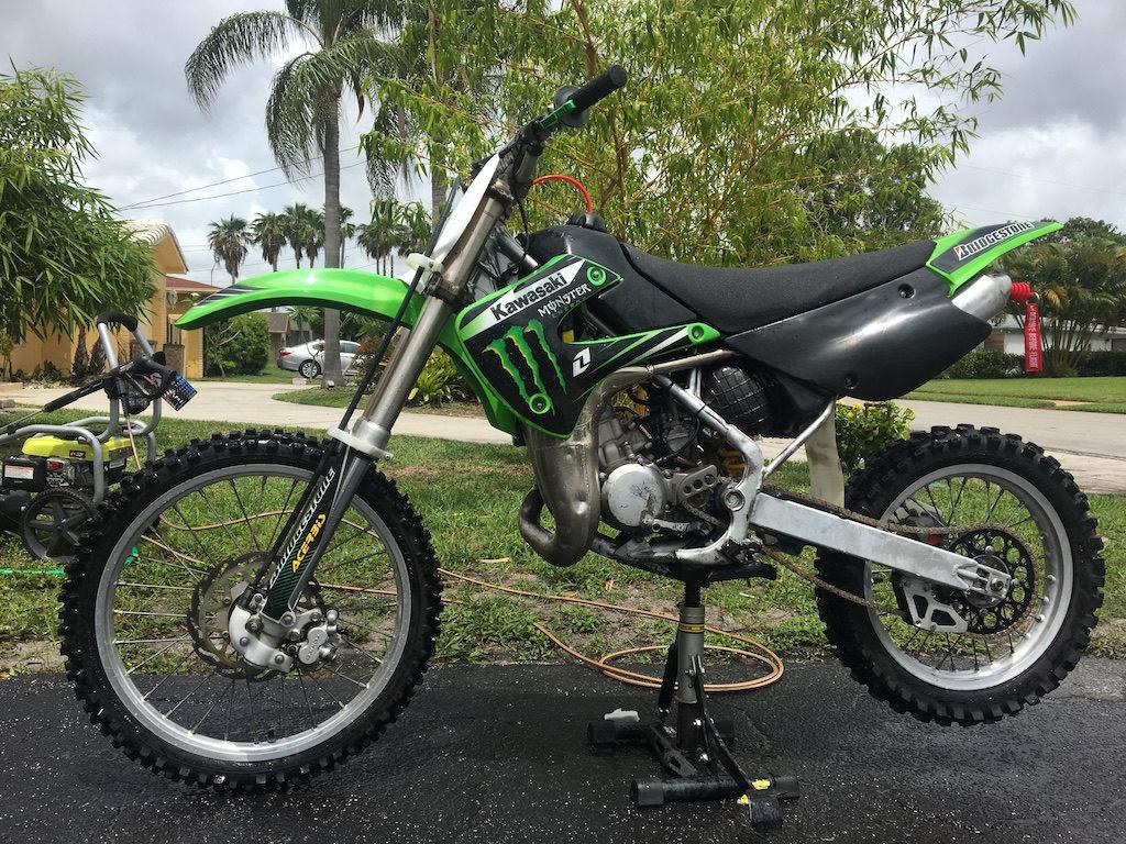 2007 Kawasaki KX 85 2 Stroke For Sale Fort Lauderdale Used