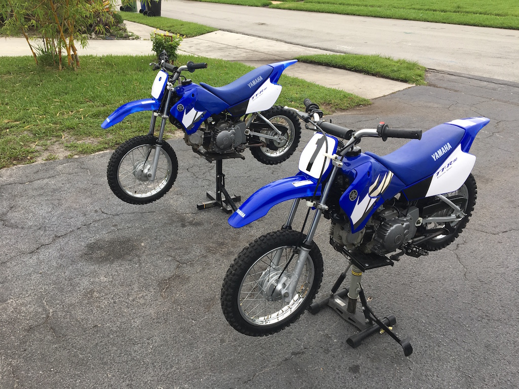 used yamaha ttr 90 3 speed electric start for sale in fort. Black Bedroom Furniture Sets. Home Design Ideas